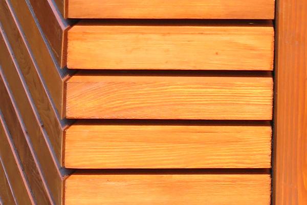 Holzschalung Detail - Prugger LandschaftsarchitektenPrugger Landschaftsarchitekten